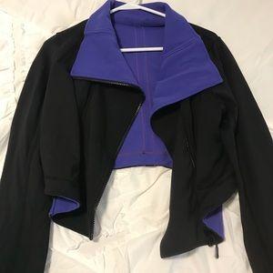 Lululemon purple and black jacket